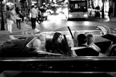 Girl in Car, Picadilly Circus